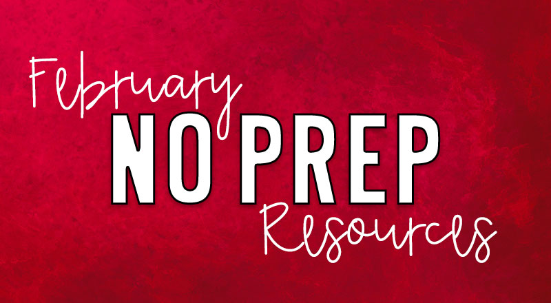 february-no-prep-resources-cover