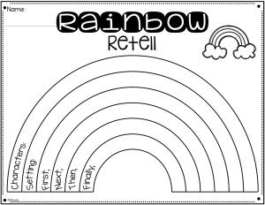 rainbow-retell-graphic-organizer