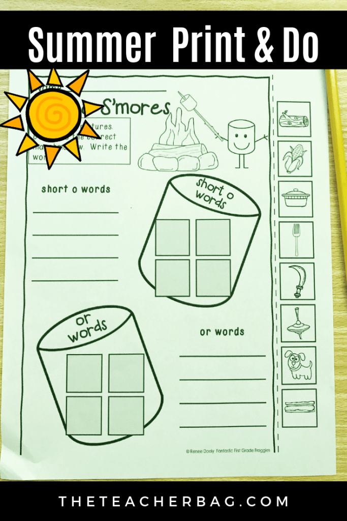 summer-no-prep-printables