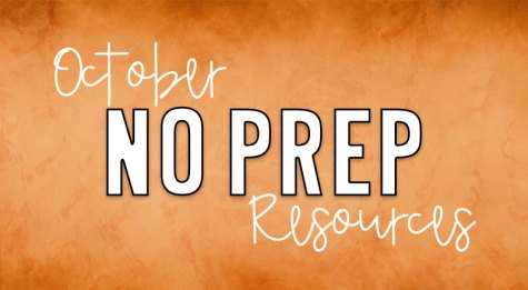 october-no-prep-resources-cover
