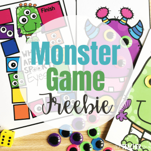 monster game freebie