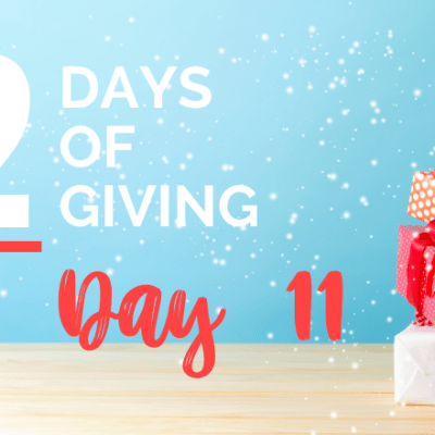 12 days of giving day 11