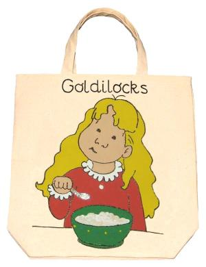 Hand Painted Story Bags