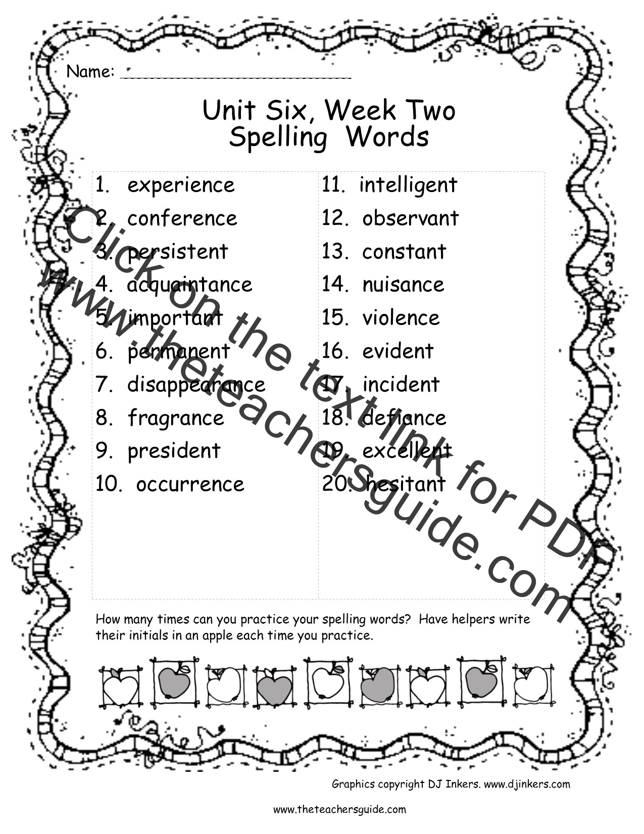Wonders Sixth Grade Unit Six Week Two Printouts