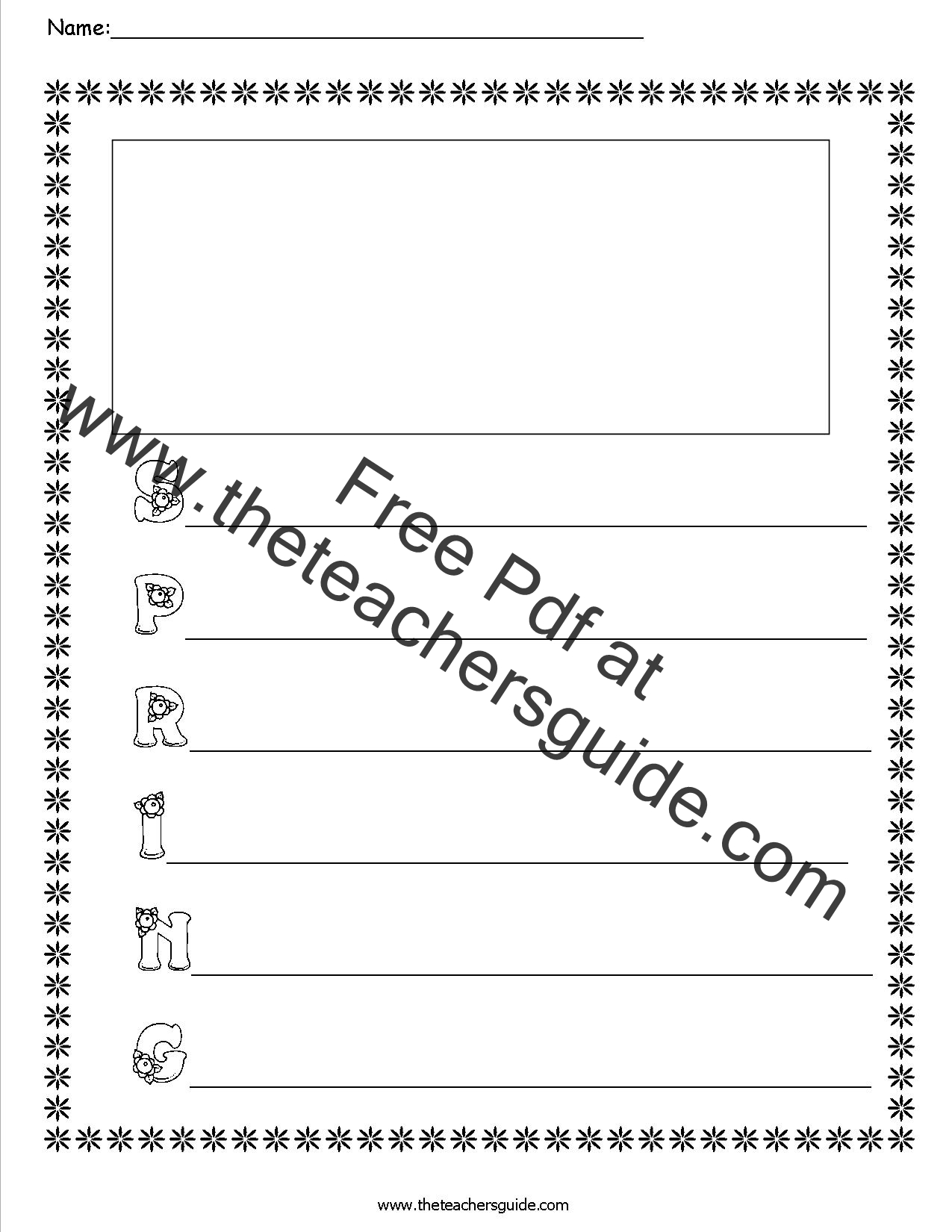 Spring Worksheets And Printouts From The Teacher S Guide