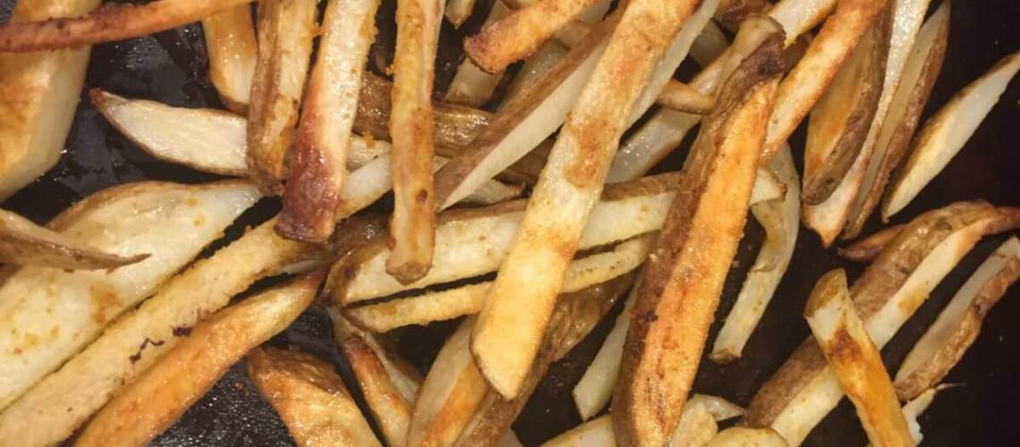 Baked Crispy French Fries