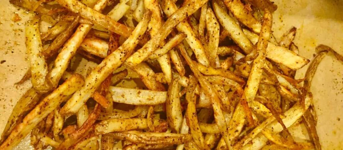 Zesty Baked French Fries