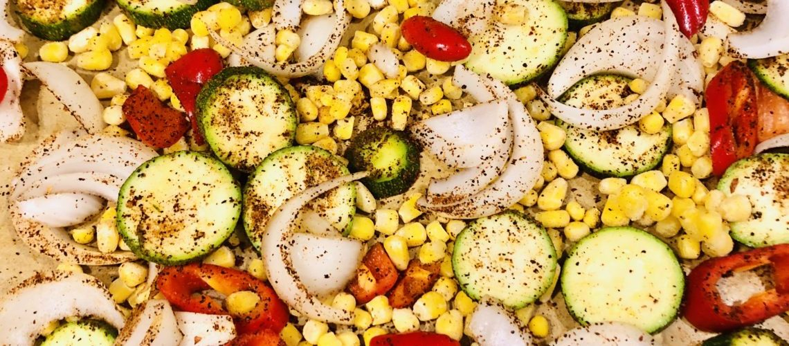 Southwest Seasoned Pan Roasted Veggies