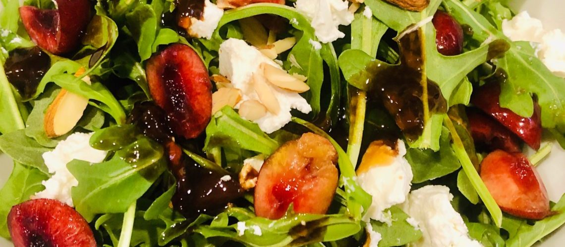 Fresh Cherry Salad