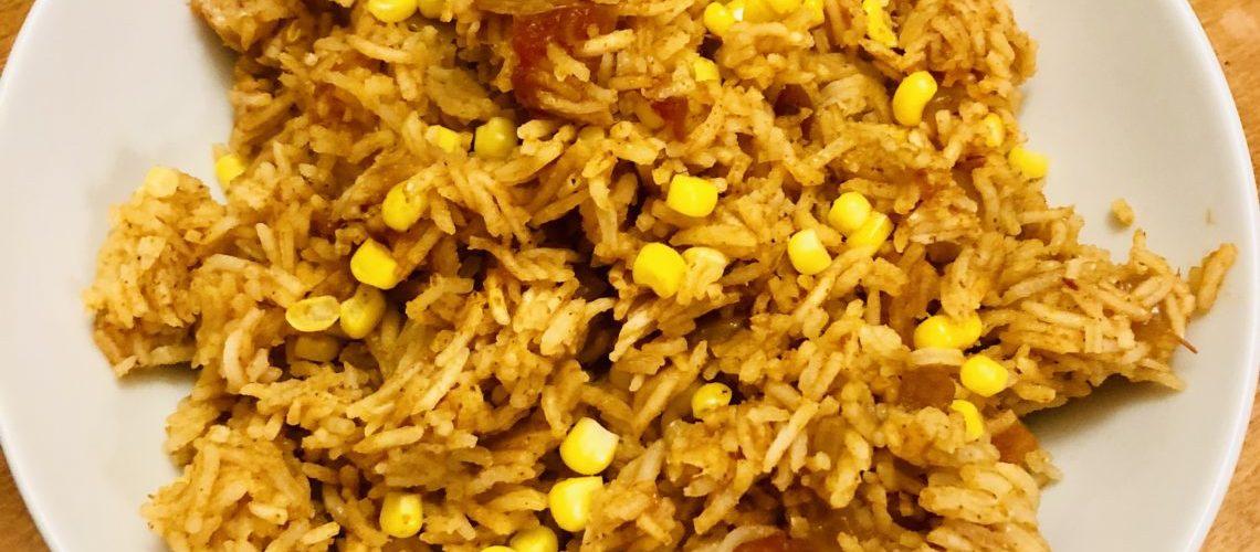 Salsa Rice with Corn