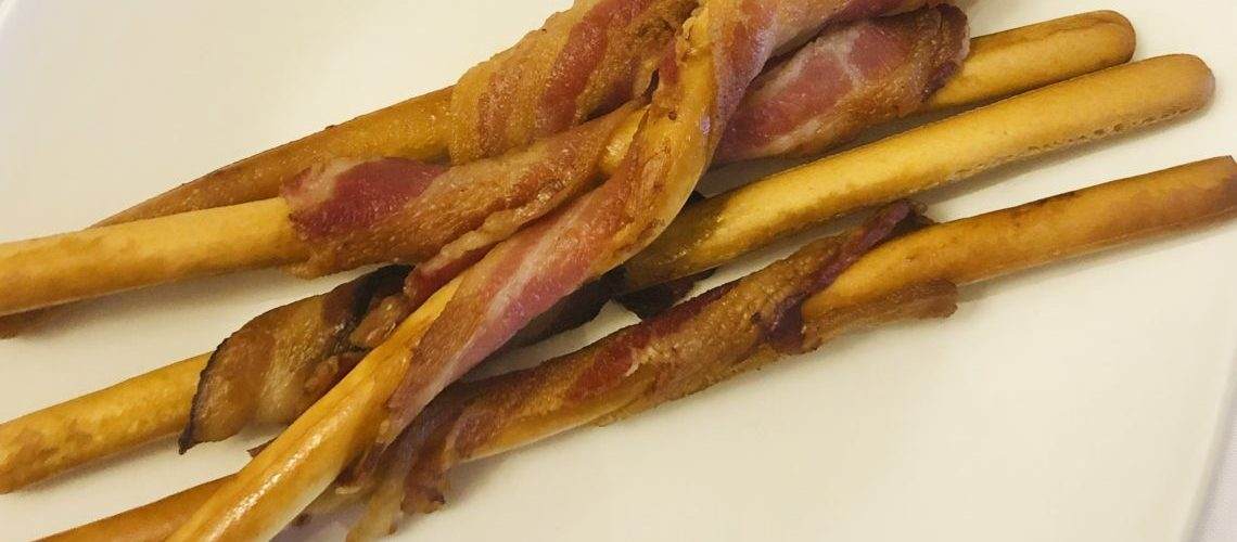 Crunchy Bacon Sticks
