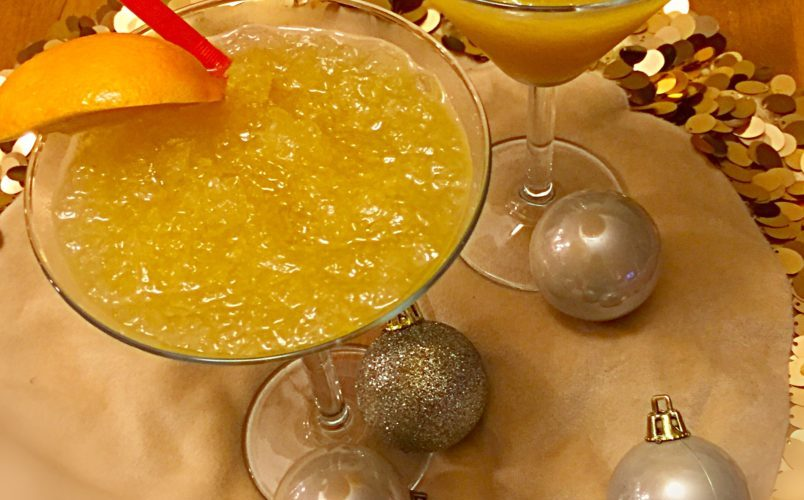 Citrus Brandy Slush