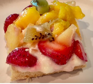 Tropical Fruit Pizza