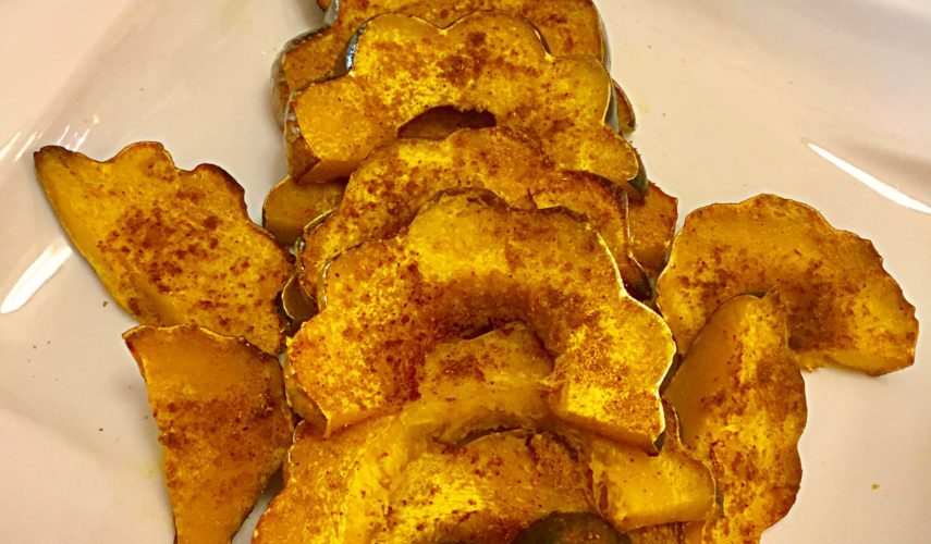 Curry Roasted Acorn Squash