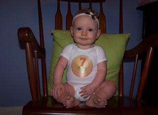 Savannah at 7 Months