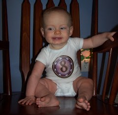 Savannah at 8 Months