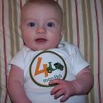 Brady at 4 Months