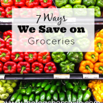 7 Ways We Save on Groceries