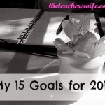 My 15 Goals for 2014