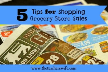 5 Tips for Shopping Grocery Store Sales