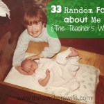 33 Random Facts about Me on 3-3
