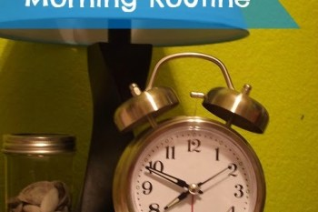 Establishing My Morning Routine {Week #1}