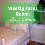 Weekly Focus Room:  Guest Bedroom