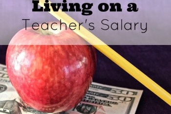 Our Family of Four Living on a Teacher's Salary