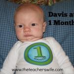 Davis at 1 Month