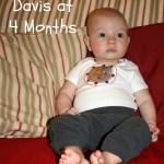 Davis at 4 Months