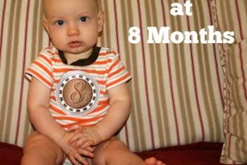 Davis at 8 Months