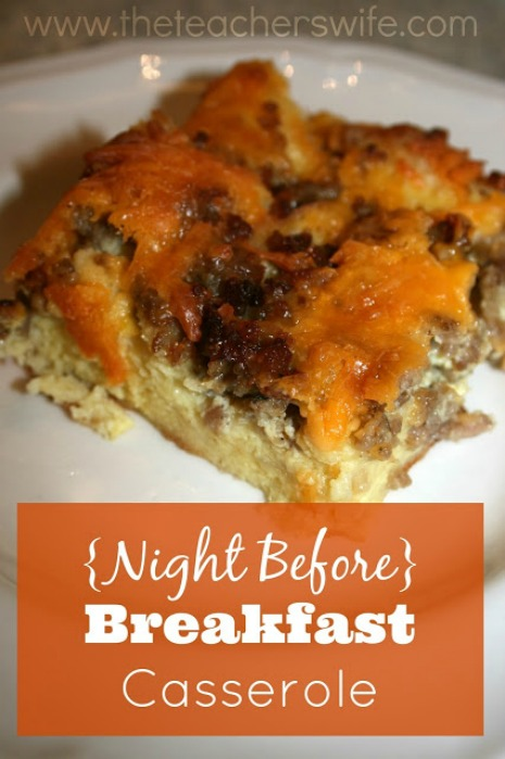 Breakfast casserole is a hit in our home. It's easy to make and very affordable!