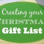 Creating Your Christmas Gift List – Day 6