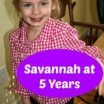 Savannah at 5 Years