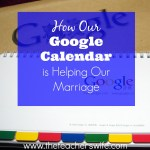 How Google Calendar is Helping Our Marriage