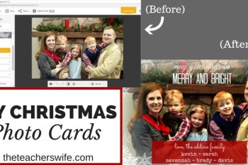 How to Make Your Own Christmas Photo Card