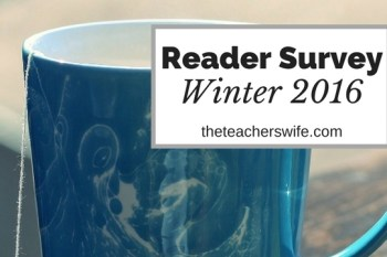 Reader Survey – Winter 2016