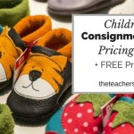 Children's Consignment Sale Pricing Tips + FREE printable