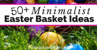 50+ Minimalist Easter Basket Ideas