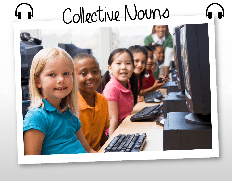 Teaching Collective Nouns (CCSS.ELA-Literacy.L.2.1.A) Without Tears!