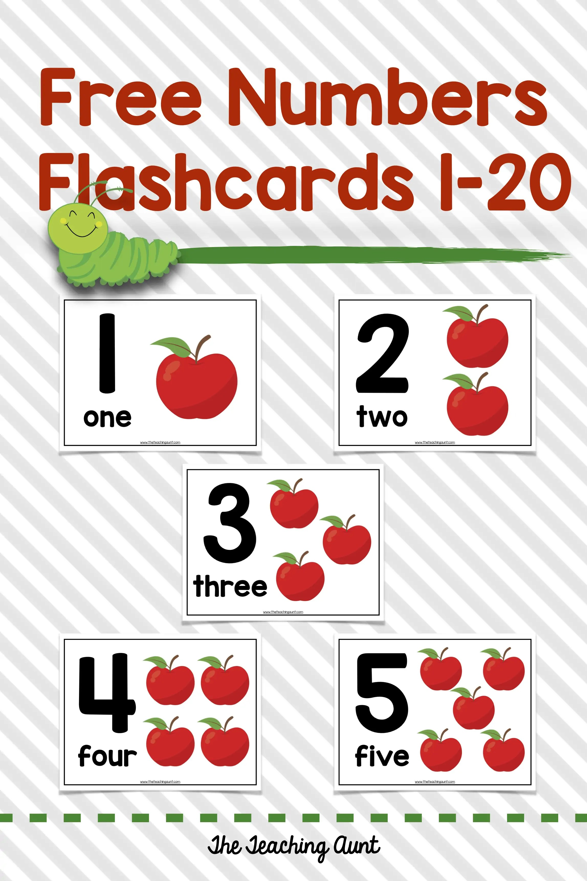 This is an image of Free Printable Numbers 1-20 with regard to booklet 120