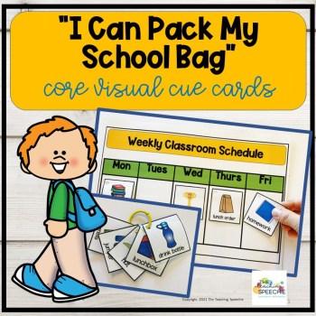 School Bag visuals