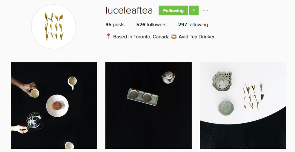 tea instagram