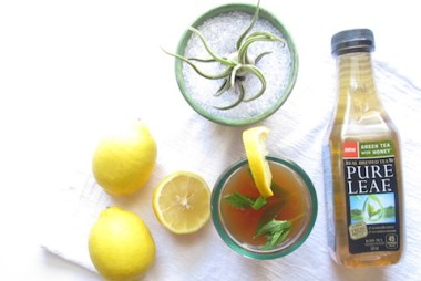 spiked iced green tea