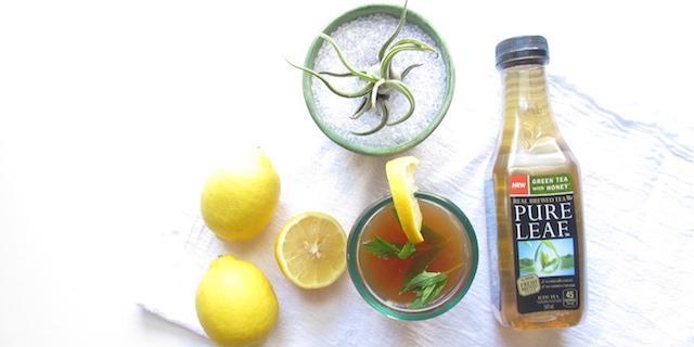 spiked iced green tea