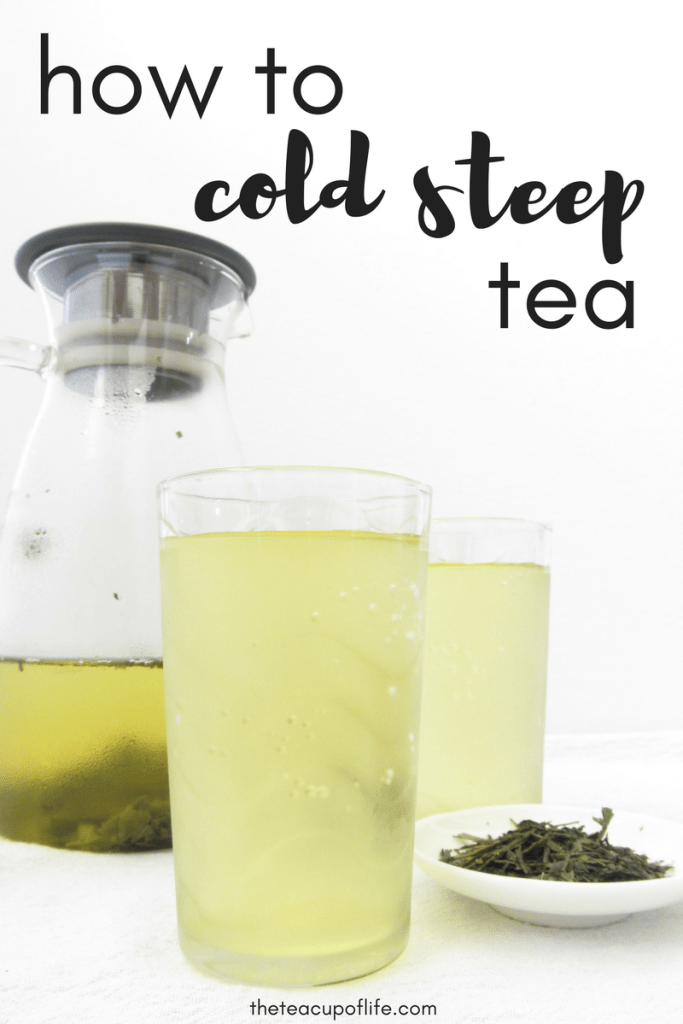 cold steep tea
