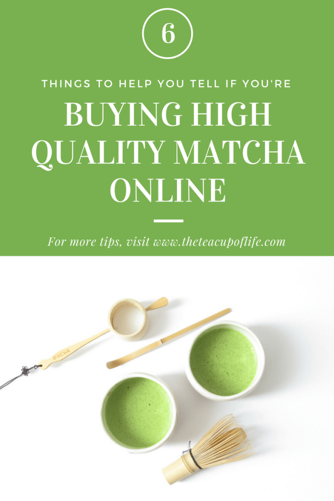 high quality matcha online