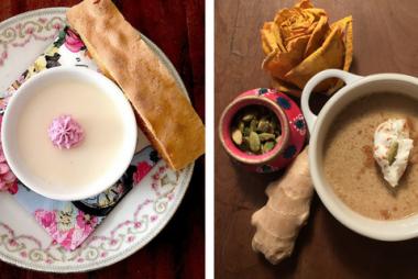 Tea Infused Desserts