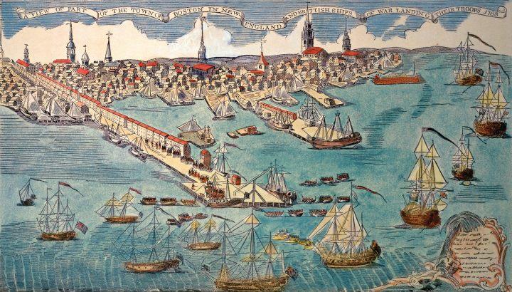 Boston Harbor 18th century