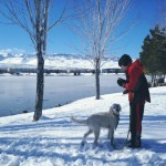 Winter Wonderland Walk with Thomas and Happy Vintage Lake 1.25.17 #5